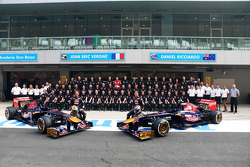 Toro Rosso teamfoto