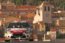 Daniel Sordo y Carlos del Barrio, Citroen DS3 WRC, Citroën Total Abu Dhabi World Rally Team