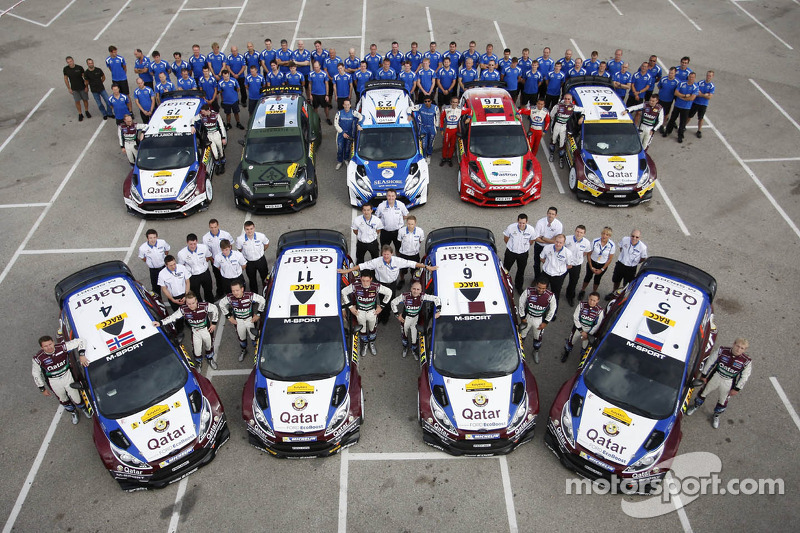 Qatar M-Sport World Rally Team 2013 at Rally de Espana