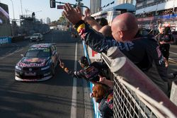 Craig Lowndes and Warren Luff take the win