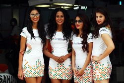 Sahara Force India F1 Team Speed Diva's