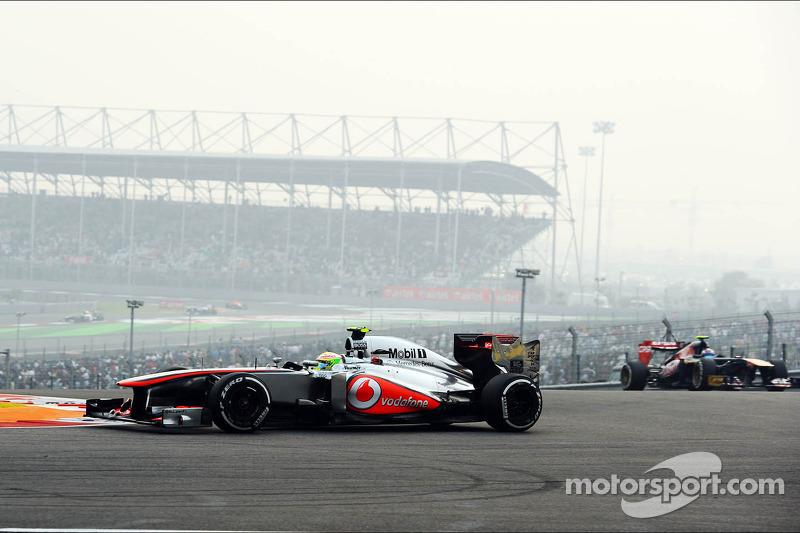 El mejor resultado con McLaren, GP de India 2013