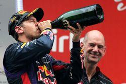 Sebastian Vettel, Red Bull Racing et Adrian Newey, Red Bull Racing