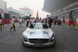 Safety Car op de grid