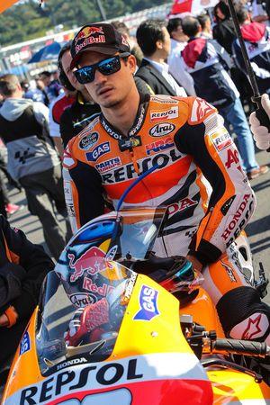 Дани Педроса. ГП Японии, воскресенье, перед гонкой.