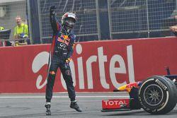 Себастьян Феттель. ГП Индии, Воскресенье, после гонки.