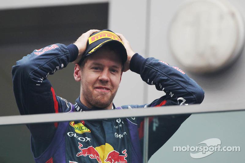 Sebastian Vettel no da crédito ante su cuarto mundial de Fórmula 1