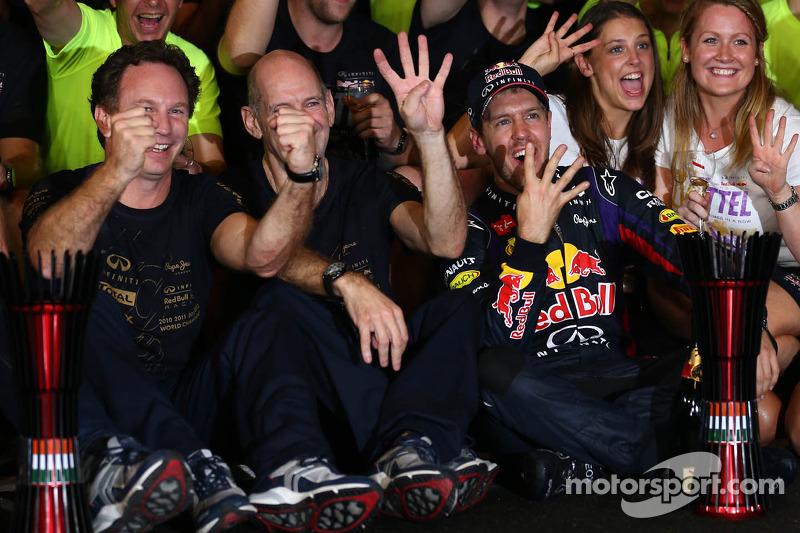 Red Bull 4 şampiyonluk (2010, 2011, 2012, 2013)