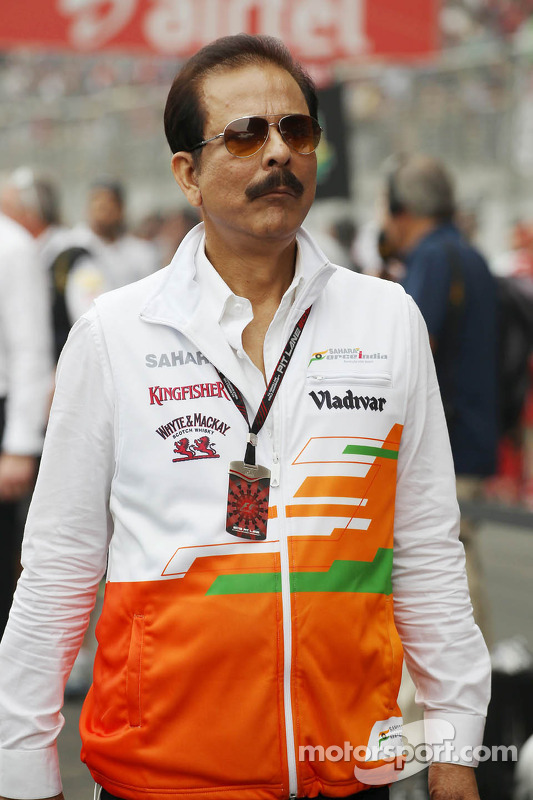 Subrata Roy Sahara, Sahara Chairman no grid