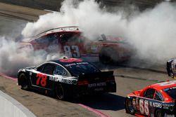 Problemen voor David Reutimann, BK Racing Toyota