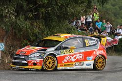 Martin Prokop y Michal Ernst, Ford Fiesta WRC