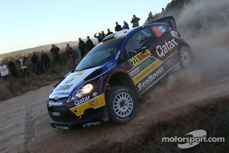 Hayden Paddon y John Kennard, Ford Fiesta RS WRC, España 2013: 8º