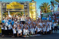 Volkswagen takımlar şampiyonluğunu kutluyor
