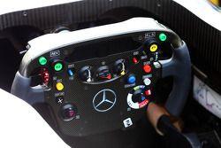 McLaren MP4-28 steering wheel