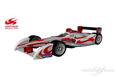 Super Aguri voegt zich bij Formule E-kampioenschap