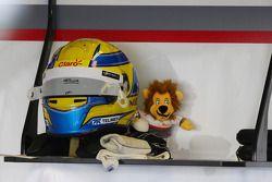 The, kask, Esteban Gutierrez, Sauber ve mascot