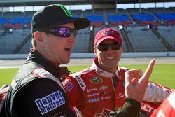 Kurt Busch y Kevin Harvick