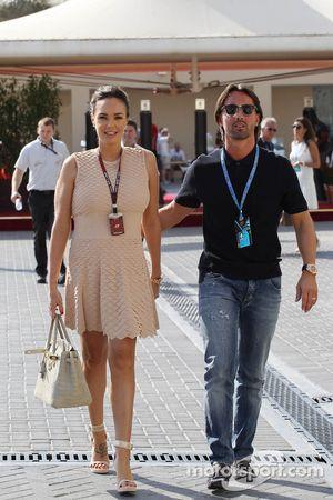 Tamara Ecclestone, ve her husband Jay Rutland