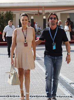 Tamara Ecclestone, with her husband Jay Rutland