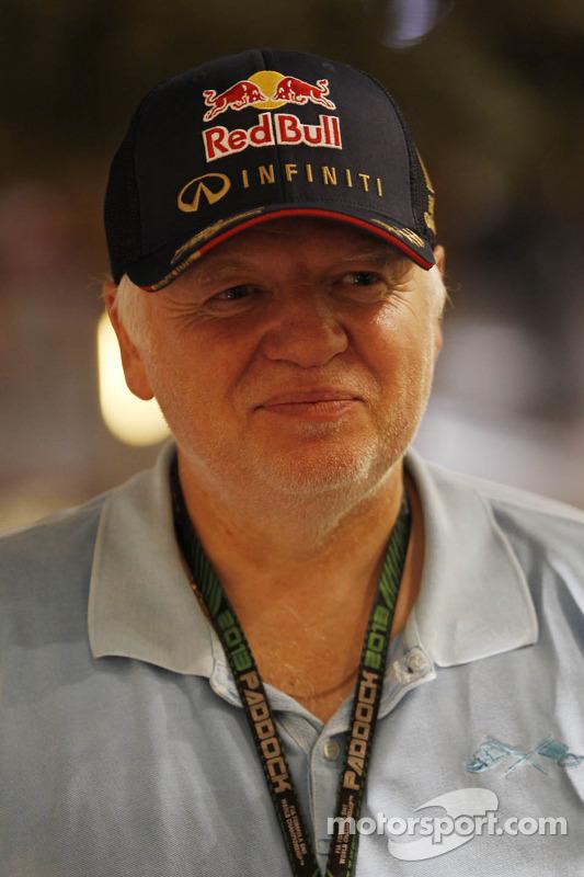 Norbert Vettel, pai de Sebastian Vettel, Red Bull Racing