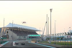Valtteri Bottas, Williams F1 Team et Giedo van der Garde, Caterham F1 Team