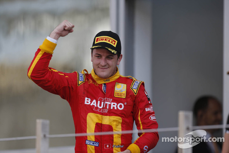 Third place Fabio Leimer