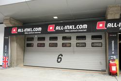 garagem de  ALL-INKL.COM Munnich Motorsport Team fechado
