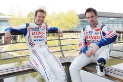 Alexander Wurz and Nicolas Lapierre