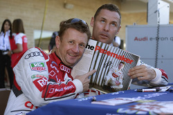 Allan McNish et Tom Kristensen