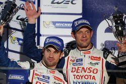 segundo colocado Nicolas Lapierre e Alexander Wurz