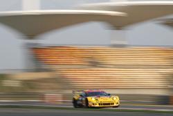 #50 Larbre Competition Chevrolet Corvetter C6-ZR1: Patrick Bornhauser, Julien Canal, Fernando Rees