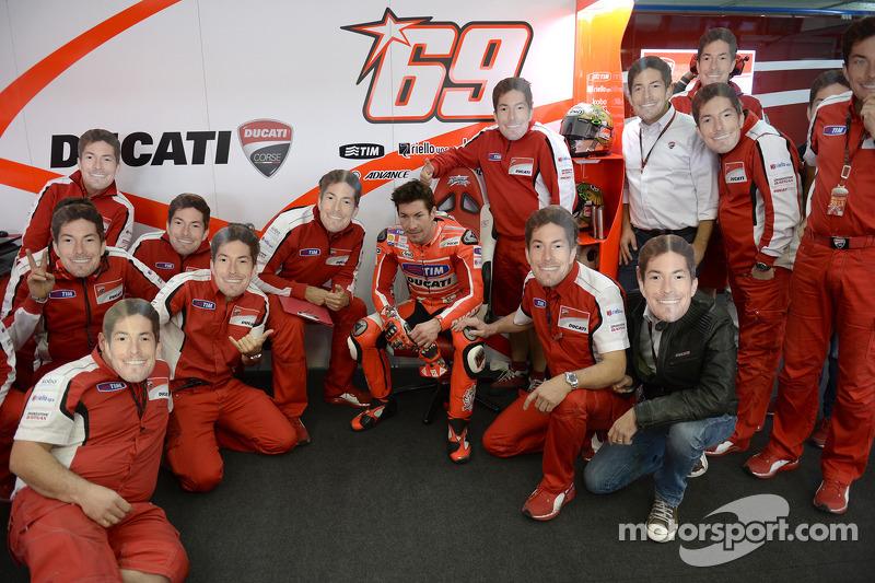 Valencia 2013: Afscheid van Ducati