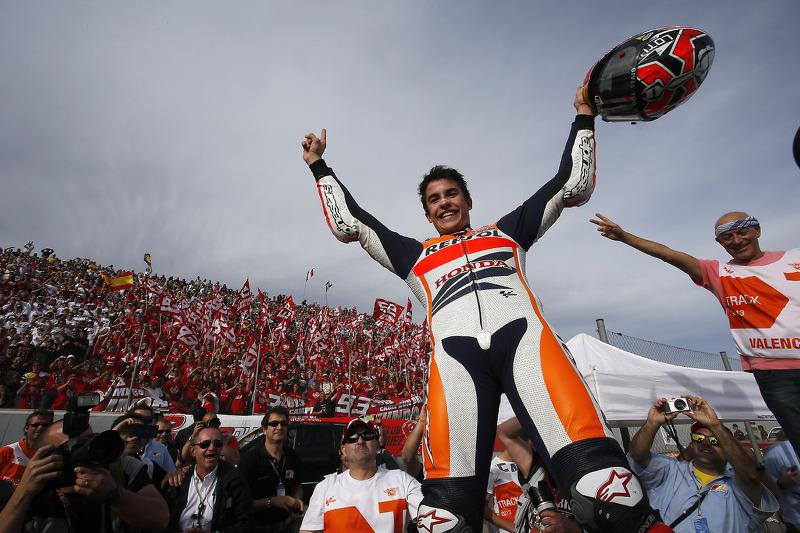 Campeón 2013 Marc Márquez, del equipo Repsol Honda