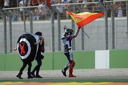 Il vincitore della gara Jorge Lorenzo, Yamaha Factory Racing
