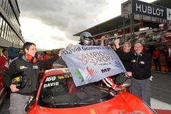 David Gostner viert zijn titel in de Europe Coppa Shell