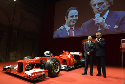 Felipe Massa y Luca di Montezemolo