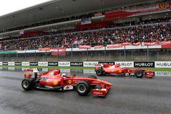 Felipe Massa et Marc Gene