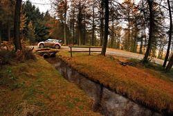 Mikko Hirvonen en Jarmo Lehtinen, Citroën DS3 WRC, Citroën Total Abu Dhabi World Rally Team