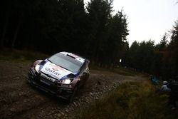 Mads Ostberg en Jonas Andersson, Ford Fiesta RS WRC, Qatar M-Sport World Rally Team