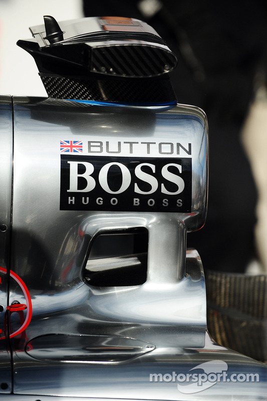 Jenson Button's McLaren MP4-28