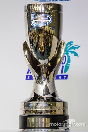 Persconferentie titelfavorieten: the NASCAR Nationwide Series cup