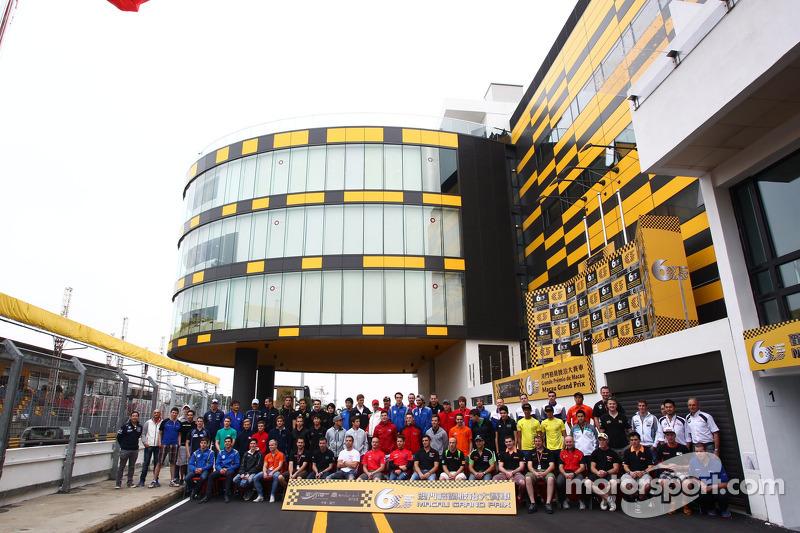 Alle coureurs in Macau