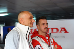 Gabriele Tarquini, Honda Civic, Honda Racing Team J.A.S. and Tiago Monteiro, Honda Civic Super 2000 TC, Honda Racing Team Jas