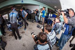 Media attention for Jimmie Johnson, Hendrick Motorsports Chevrolet