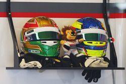 Os capacetes de Esteban Gutierrez, Sauber