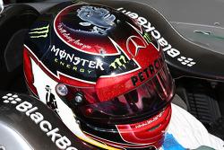 El casco en honor a Michael Jackson de Lewis Hamilton