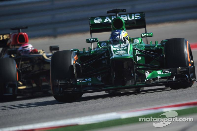 Charles Pic, Caterham CT03 voor Heikki Kovalainen, Lotus F1 E21