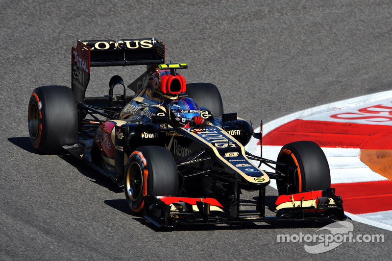 Romain Grosjean - 7 GP liderados