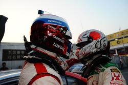 Yvan Muller, Chevrolet Cruze 1.6T, RML et Tiago Monteiro, Honda Civic Super 2000 TC, Honda Racing Te