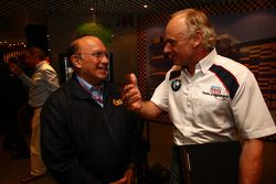 L to R Joao Manuel Costa Antunes, The coordinator of Macau Grand Prix Committee and Franz Engstler,